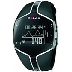 Polar FT80 Heart Rate Monitor Watch (Black) by Polar