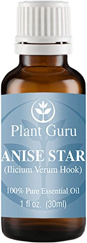 Anise Star Essential Oil. 30 ml (1 oz) 100% Pure, Undiluted, Therapeutic Grade.