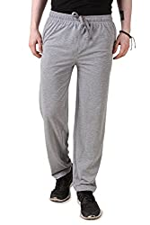 Aventura Outfitters Single Jersey Grey Melange Trackpant - L (AOSJTP515-L)