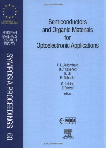 Semiconductors and Organic Materials for Optoelectronic Applications