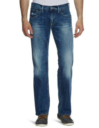 Hilfiger Denim Men's 1957816622 Straight Leg Jeans Blue (957 Broomfield Vintage) 31/32