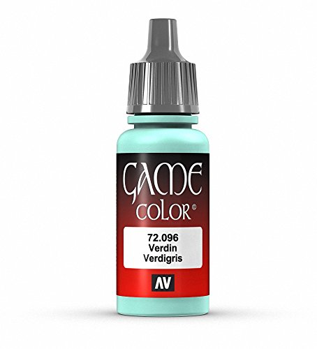 Vallejo Game Color Verdigris Paint, 17ml
