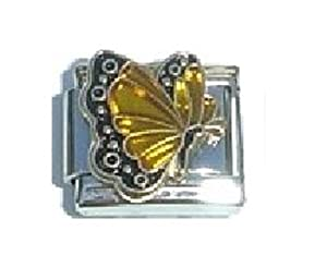 november birthmonth butterfly italian charm fits