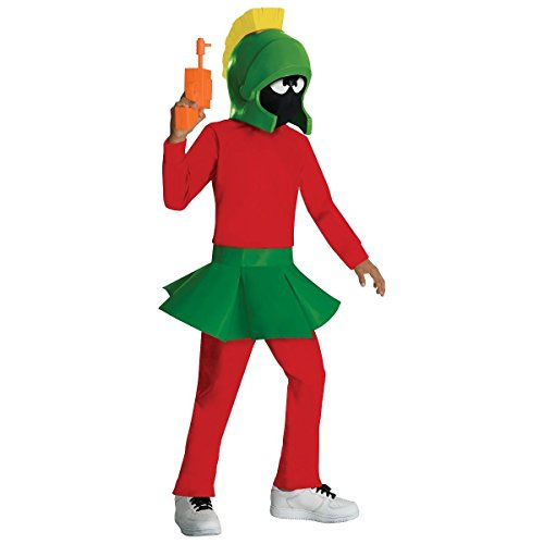 [GSG Marvin The Martian Costume Looney Tunes Cartoon Character Halloween] (Looney Tunes Martian Costume)