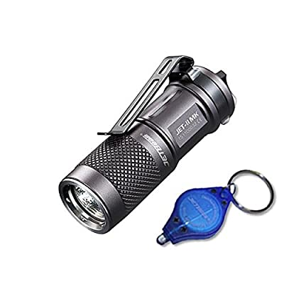 Jetbeam JET-II MK CREE XP-L HI LED Flashlight - 510 Lumens w/ Exclusive Jetbeam Keychain Light by Ecosphere