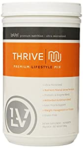 Level Premium Nutrition: Ultra Micronized Thrive Shake Mix 560 Grams