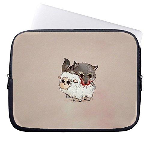 chadme-feroce-lupo-di-poveri-pecore-casi-custodia-per-notebook-laptop-sleeve-borsa-con-cerniera-per-