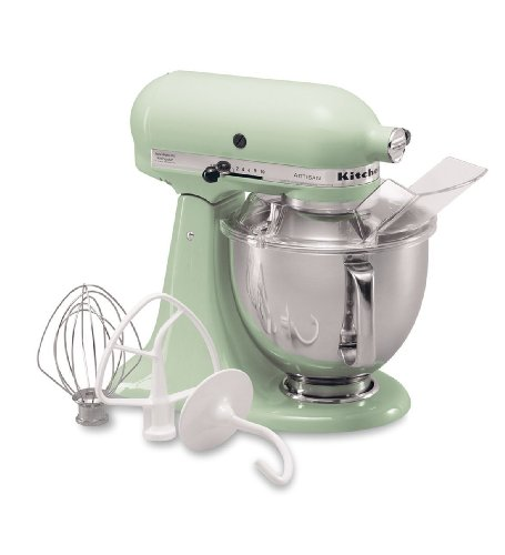 #1 KitchenAid KSM150PSPT Artisan Series 5-Quart Mixer, Pistachio  Best Offer
