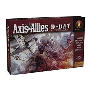 Axis & Allies D-Day June 1944 Board Game