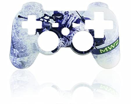 Call of Duty: Modern Warfare 2 PS3 Controller Faceplate  - Snow