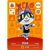 Moe - Nintendo Animal Crossing Happy Home Designer Amiibo Card - 273