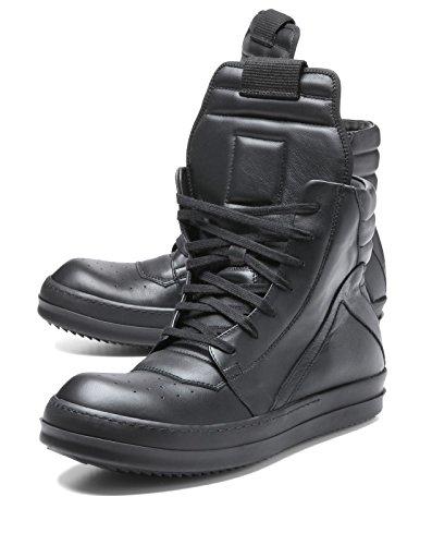 (リック オウエンス) RICK OWENS スニーカー ハイカット BLACK/BLACK/BB ブラック GEOBASKET ジオバスケット 42 RU16S3894/LPO 999 [並行輸入品]