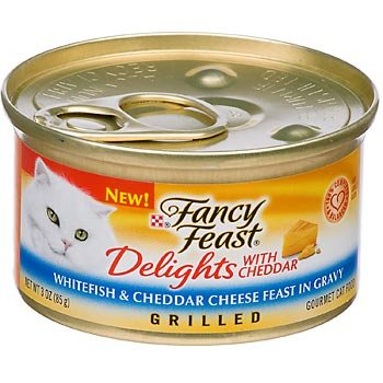 Fancy Feast Delights with Cheddar Grilled Whitefish & Chedda