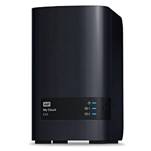 WD 6TB  My Cloud EX2  Network Attached Storage - NAS - WDBVKW0060JCH-NESN
