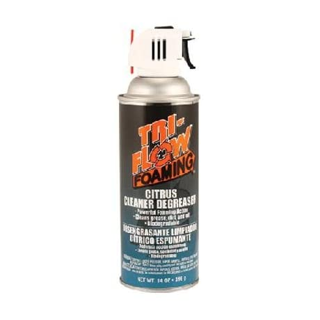 Tri-Flow Foaming Citrus Bicycle Degreaser and Cleaner - 14 oz Aerosol - TFF230000