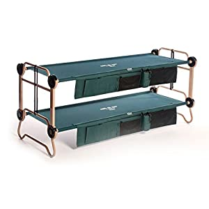 Disc-O-Bed Cam-O-Bunk with 2 Organizers