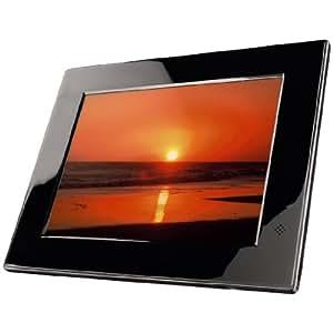 """Hama Emotion - Marco de fotos digital (pantalla de 20,3 cm (8""""), formato 4:3, ranura para tarjetas SD/SDHC/MMS/MS) incluye mando"""