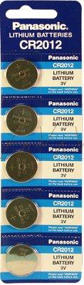 Panasonic - Knopfzelle Lithium Blister CR2012 PANASONIC 3V 55mAh - Blister(s) x 1