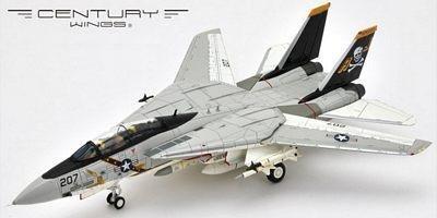 F-14A TOMCAT U.S.NAVY VF-84 JOLLY ROGERS AJ207 78 (1/72 748019)
