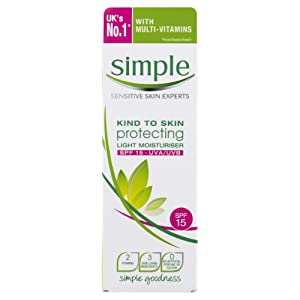 Simple Kind To Skin Protecting Light Moisturiser SPF 15 125ml
