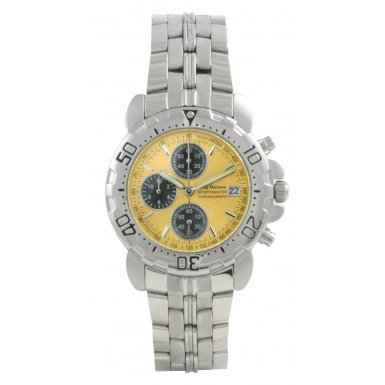Krug-Baumen Sportsmaster Yellow Sports Chronograph Watch
