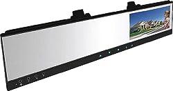 ルームミラー型ドライブレコーダー 4.3インチ 取付簡単バックカメラ対応 ◇AZ-43RMDR