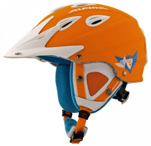 ALPINA Erwachsene Skihelm Grap Cross Orange orange 54-57 Inch