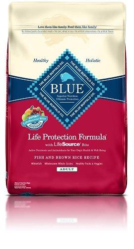Blue Buffalo BLUE Fish and Brown Rice, 15 lb (Fish Potato compare prices)