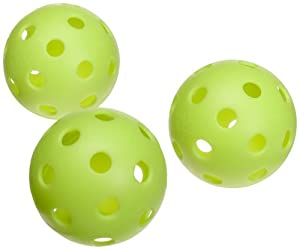 Jugs Vision-Enhanced Green Poly Baseballs (One Dozen)