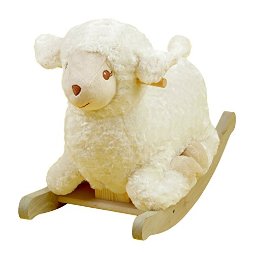 Rockabye Lambkin Lamb Rocker, One Size - 1