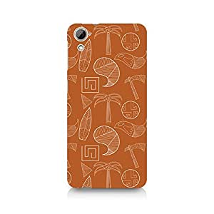 Ebby Tribal Tools Premium Printed Case For HTC Desire 820