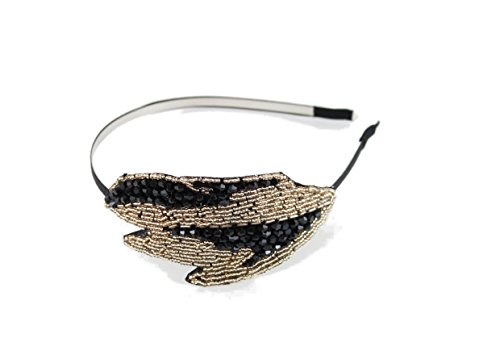 Flapper-Fun-Gold-and-Black-Headband-1920s-Statement-Party-Wedding-Headband-for-Women-Teens-and-Girls