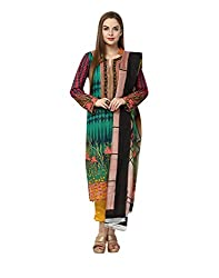 Yepme Women's Multi-Coloured Blended Semi Stitched Suit - YPMRTS0335_Free Size