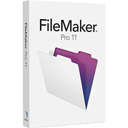 Filemaker Pro 11 for Windows & Mac