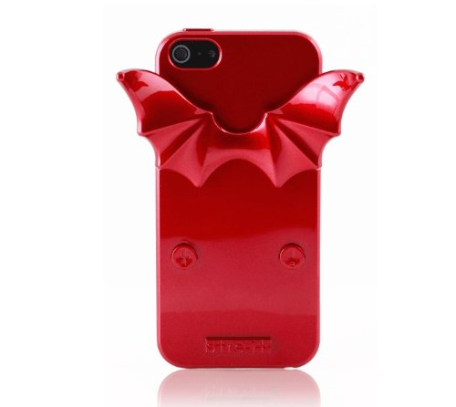 Special Sale [stre-it! Helsinki] NEW Devil-it! Glossy Red Jelly Case (TPU) for Apple iPhone 5