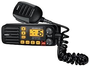 Uniden DSC-BK VHF Waterproof Marine Radio (Black)