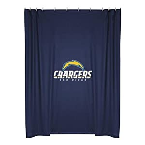 NFL San Diego Chargers Shower Curtain by Sports Coverage