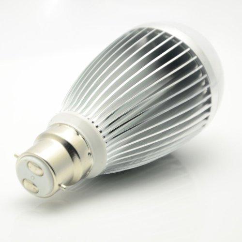 Thg 10W Led Standard B22 Warm White 650Lm Energy Saving Down Light Cabinet Lamps Bulbs 100V-240V (Pack Of 4)