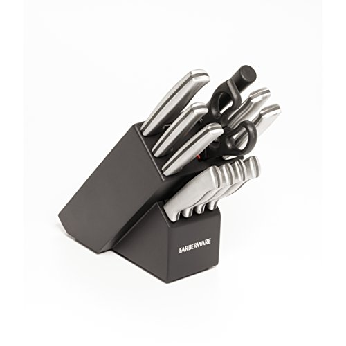 Farberware 12-Piece Stamped Stainless-Steel Cutlery Set (Farberware Knife Set 12 Piece compare prices)