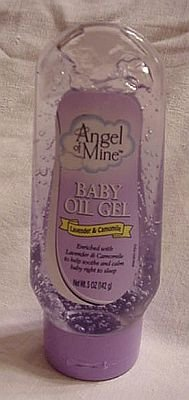 Angel of Mine Baby Oil Gel with Lavender & Chamomile 5 Oz. - 1