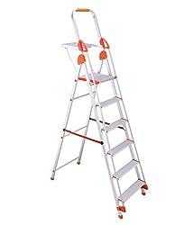 Bathla 5-Feet Baby Ladder with Pail Tray