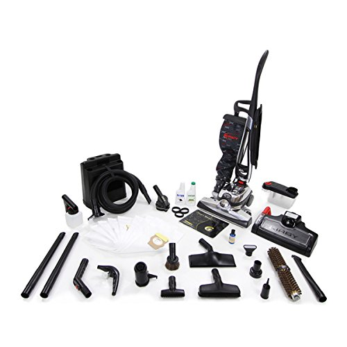 Kirby Avalir Black/Silver 15-inch x 43-inch x 16-inch Upright Vacuum Cleaner With Cleaning Accessories and Tools Reconditioned (Kirby And Allen compare prices)