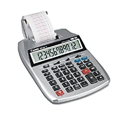 Canon P23DHV - P23-DHV 12-Digit Two-Color Printing Calculator, 12-Digit LCD, Purple/Red
