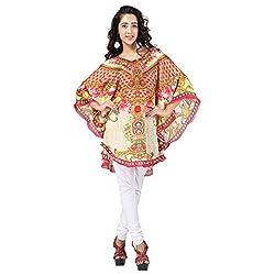 7 Colors Lifestyle Women's Georgette Dress (ABP6025POV3XL_Multi-Coloured)