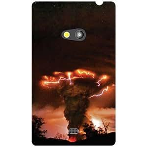 Nokia Lumia 625 Back Cover - Peppy Designer Cases