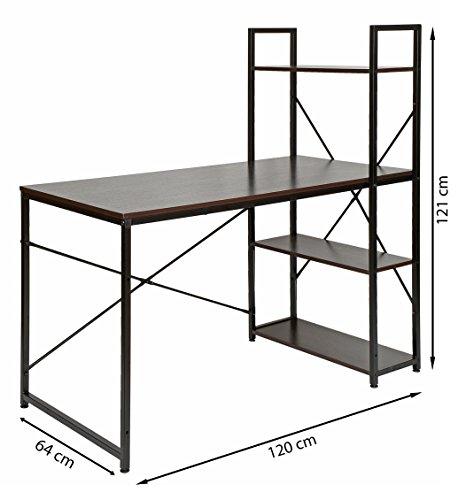 ts ideen holz schreib tisch brotisch computertisch. Black Bedroom Furniture Sets. Home Design Ideas