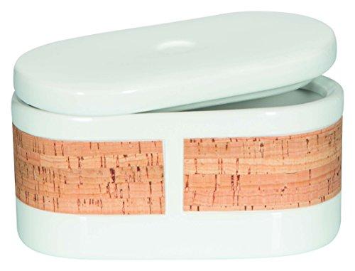 Spirella Tube Nature, boîte de rangement, pierre, Blanc/Liège