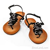 Terrace Jeweled Thong Sandals