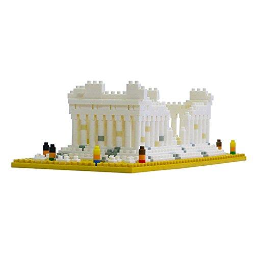 Kawada Nanoblock Parthenon Greece Athens Building Kit (Parthenon Model compare prices)