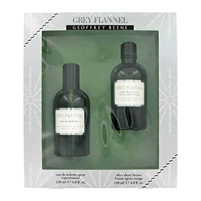 Best Cheap Deal for Geoffrey Beene Grey Flannel for Men 2 Piece Gift Set (4 Ounce Eau de Toilette Splash Plus 4 Ounce After Shave Lotion) by PerfumeWorldWide, Inc. Drop Ship - Free 2 Day Shipping Available